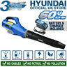 More images of Cordless Leaf Blower Leaves 60v 129mph Lightweight Inc Battery & Charger Hyundai