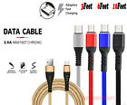 Heavy Duty Micro Usb Fast Charger Data Cable Cord For Samsung Android Htc Lg Us