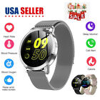 Smart Watch Android Women Man Watch Blood Presure Heart Rate Smartphone iOS CF1
