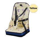 Portable Baby Kids Toddler Feeding High Chair Booster Seat Cover Harness Cushion