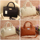 Women Leather Travel Handbag Quilted Luxury Artificial Large Shoulder Hand Bags