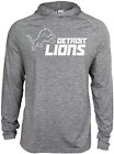 Zubaz NFL Football Men's Detroit Lions Tonal Gray Lightweight Hoodie $34.99 USD on eBay