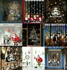 Christmas Window Decal Wall Sticker Adhesive Removable Home Decoration