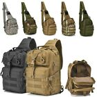 20L Tactical Backpack Military Shoulder Crossbody Bag Hiking Camping Day Pack US