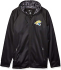 Zubaz NFL Men's Jacksonville Jaguars Full Zip Digital Camo Hood Hoodie, Black $49.99 USD on eBay