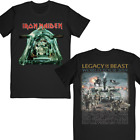 Iron Maiden Legacy of the Beast 2019 USA Tour T-shirt Sand Color S-2XL image