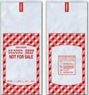 2 LB GROUND BEEF MEAT BAGS