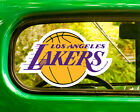 2 LOS ANGELES LAKERS DECAL Stickers Bogo For Car Window Bumper Free Shipping on eBay