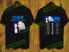 Cher t Shirt Here We Go Again Tour Dates 2019-2020 T-Shirt Size Men Black S-3XL image