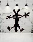 Kyпить Wile E.Coyote Hitting Wall Splat Wiley Vinyl Decal Sticker на еВаy.соm