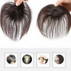 100% Human Hair Topper Clip in Thin Hairpiece Toupee Top Pieces Wiglet for Women for sale  Shipping to South Africa