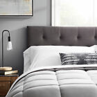 LUCID Upholstered Diamond Tufted Headboard Damaged Packaging