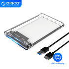 ORICO HDD Case 2.5 Transparent SATA to USB3.0 Adapter External Hard Drive Case