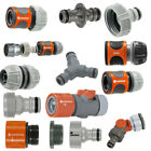 Gardena Hose Fittings Click Fit Compatible With Hozelock, Claber And Others