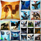 How to Train Your Dragon Pillowcase Home Sofa Waist Cushions Cover Pillow Cover image