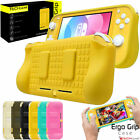 for Nintendo Switch LITE Soft TPU Silicone, 2 Game Holder, Hand Grip Case Cover