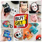 New AirPods Cute 3D Cartoon Silicone Case Cover Protective for Apple Airpod 2 1 $6.99  on eBay
