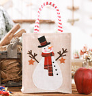 US Christmas Party Burlap Bag Child Snack Candy Sweet Gift Storage Decoration