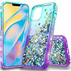 For Coolpad Legacy/Alchemy Case Quicksand Glitter Rubber Cover+Screen Protector