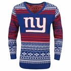 FOCO NFL Women's New York Giants Big Logo Aztec V-Neck Sweater $39.99 USD on eBay