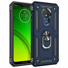 For MOTOROLA MOTO G7 Power /Supra /G7 Optimo Maxx Ring Holder Phone Case Cover