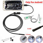 For Android&iPhone HD WIFI Endoscope Waterproof Borescope Inspection Cam D_X