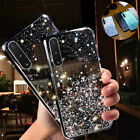 For Samsung Galaxy Note 10 Plus S20 S10 S9 Glitter Crystal Silicone Case Cover