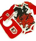 Dragons NRL Three Piece Baby Infant Gift Set With Bodysuit Sizes 000-1!