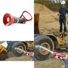 High Pressure Fire Hose Nozzle Water Sprayer Spray Gun Wash Car Lawn Garden Wand