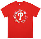 MLB Men's Philadelphia Phillies Circle Logo Cotton T-Shirt on Ebay