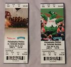 2015 Philadelphia Phillies Ticket Stub Pick One - unused Season Ticket on Ebay
