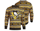 Forever Collectibles NHL Men's Pittsburgh Penguins 2016 Aztec Print Ugly Sweater $39.95 USD on eBay