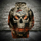 Denver Broncos Hoodie Football Hooded Sweatshirt Sports Jacket Gift for Fans $26.59 USD on eBay