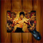 Bruce Lee Mousepad Chinese Kungfu SuperStar Rubber Mouse Pad Mat20 x 25 x0. 3cm