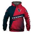 2020 Houston Texans Hoodie Hooded Pullover S-5XL Football Team Fans NEW Designs $38.68 CAD on eBay