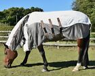 Mark Todd AIR MESH Airmesh COMBO Rug Lightweight Fly Relief Blue/Tan 5'6''-7'0''
