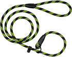 Strong Rope Dog Leash Slip Lead Reflective 6Ft Nylon Cord Small Large Heavy Duty