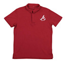 Outerstuff MLB Youth Atlanta Braves Performance Polo, Red on Ebay