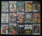 Playstation 2 PS2 games - Hulk Shrek Tekken Rayman Crisis Zone X-Men Kung Fu Pan