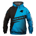 Carolina Panthers Hoodie Hooded Pullover S-5XL Football Team Fans NEW Designs $34.94 CAD on eBay
