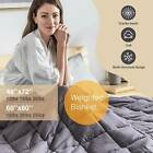 """Weighted Blanket Reduce Stress Promote Deep Sleep 60''X80"""" 42x78'' 12 15 20 25lb image"""