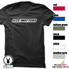 SIZE MATTERS Gym Rabbit T-Shirt Gym Fitness Workout Weightlifting E417 image