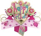 Birthday Card For Grand Daughter Sister Friend Niece Girl 3D Pop Up Gift Card