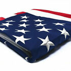 2x3 3x5 4x6 5x8 6x10 Ft Polyester Embroidered Stars Brass Grommets American Flag