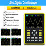 More images of Portable Smart Oscilloscope 2.4-inch 500MS / s Waveform Storage Analog Bandwidth