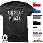 AMERICAN MUSCLE Gym Rabbit T-Shirt Gym Fitness Workout Weightlifting E493 image