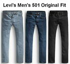 Levi's Men's 501 Original Fit Jean 100% Cotton Button Fly