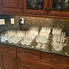 Longchamp Crystal Glassware Selection Including Pitcher(s)