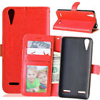 Slim Wallet Leather Flip Case Cover For Lenovo P1 X2 A536 A2010 K5 C2 K6 P2 S60