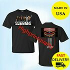 Scorpions Crazy World Tour Shirt  2020 T-Shirt Black Tee All Size  image